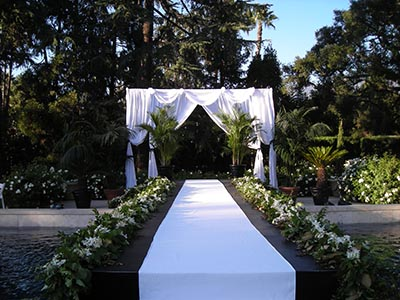Wedding Pool Bridge