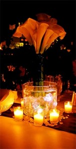Illuminated Floral Centerpiece