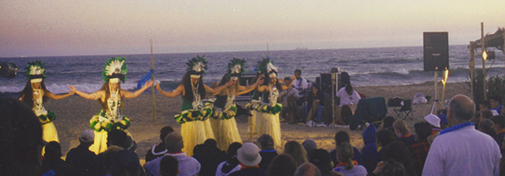 hawaian dancers wide