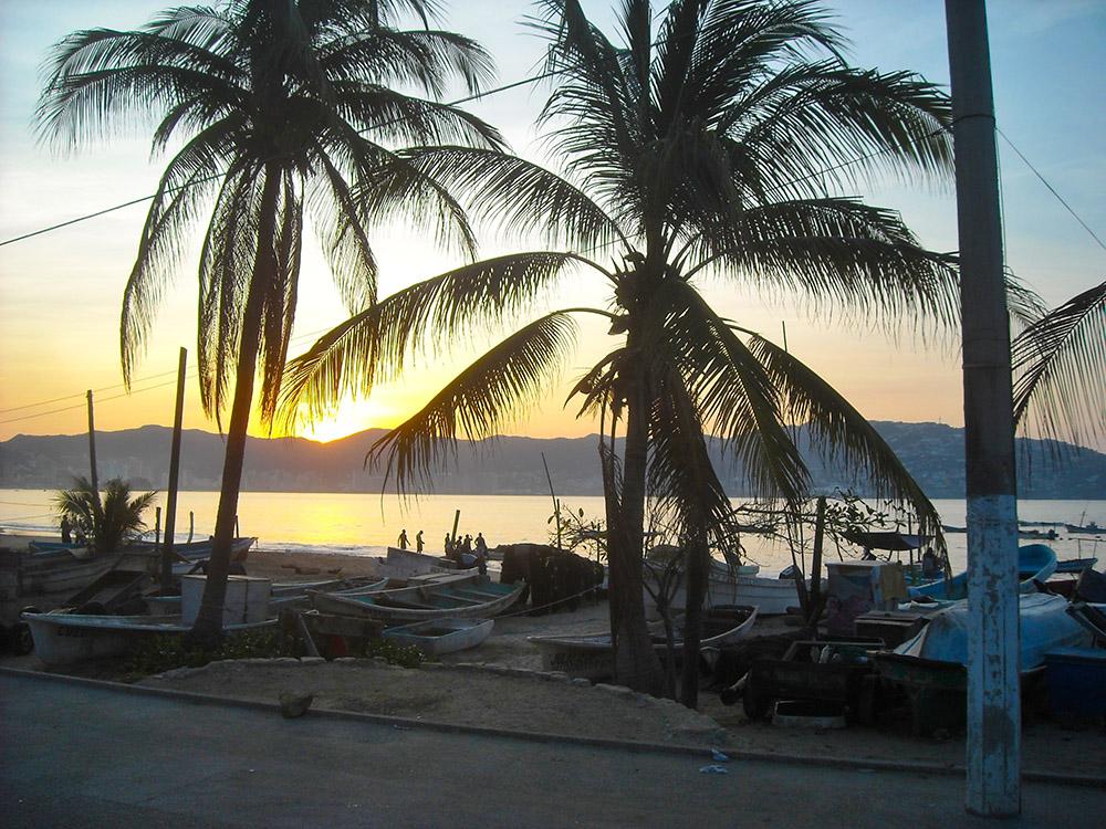 DJ James Acapulco sunrise