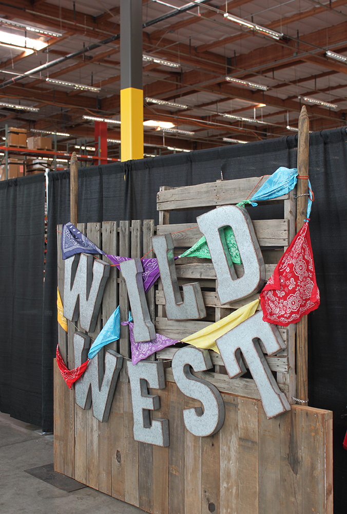 Wild West Theme Party, Event Design